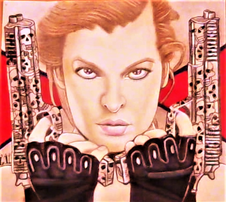 Milla Jovovich by Delilah5